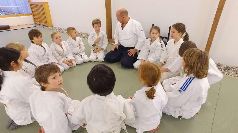 Kids Aikido Gruppe