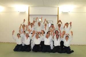 Gruppenfoto Toshiro Suga Aikido Lehrgang