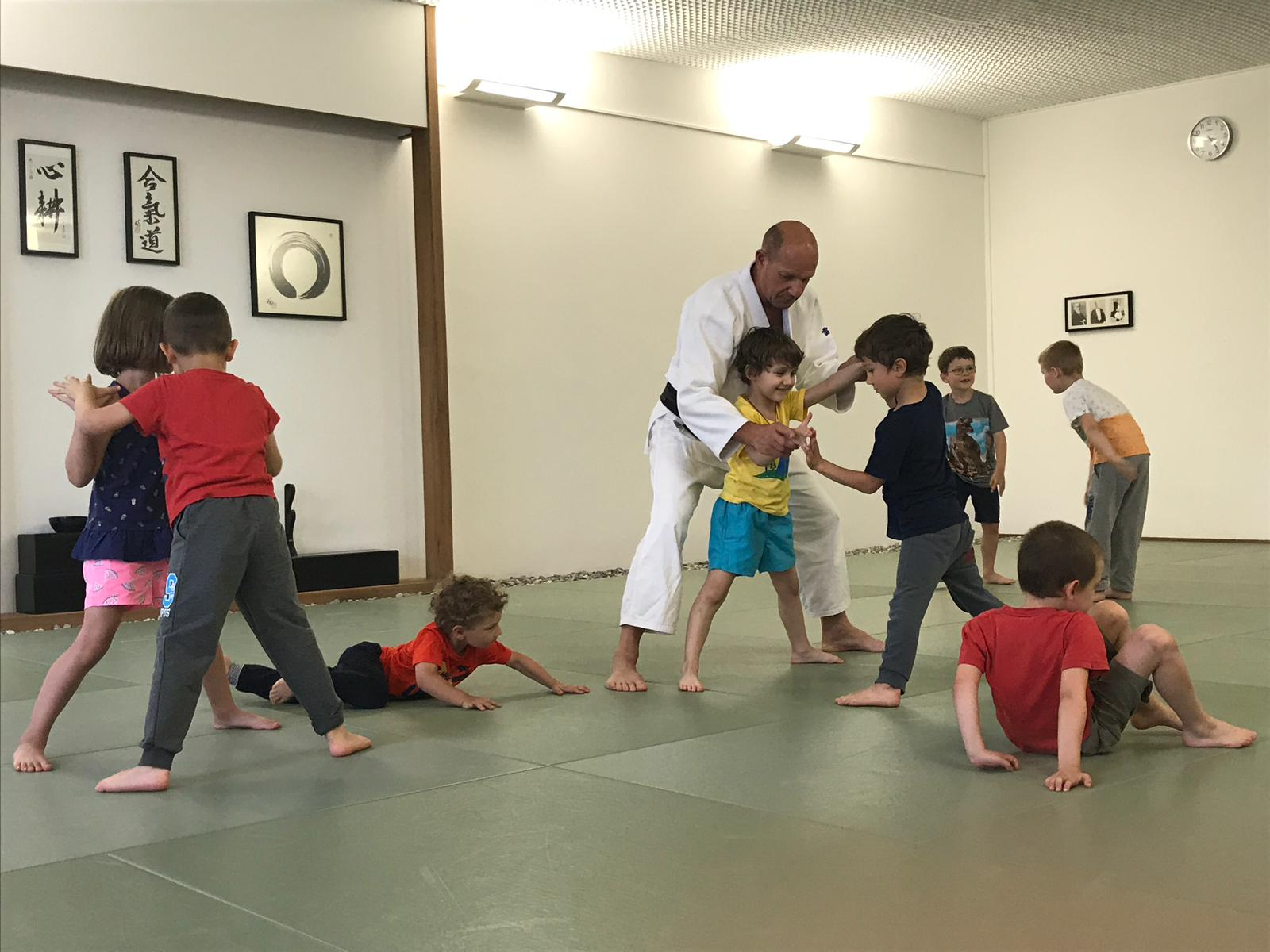 Kinder lernen Koordination